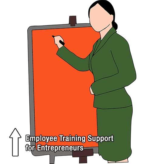 Employee Training Support for Entrepreneurs