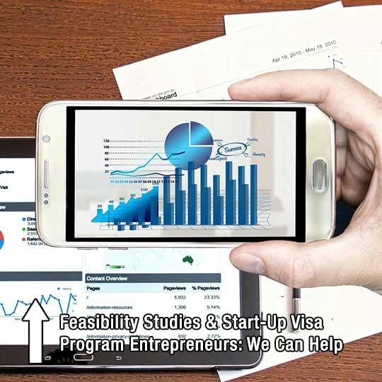Feasibility Studies & Start-Up Visa Program Entrepreneurs: We Can Help