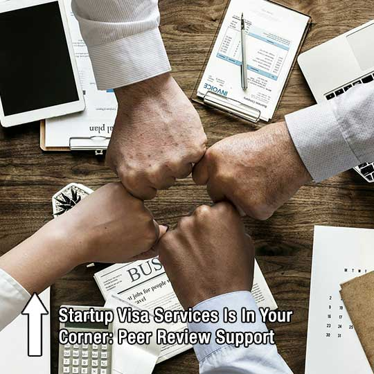 Startup Visa Services Is In Your Corner: Peer Review Support