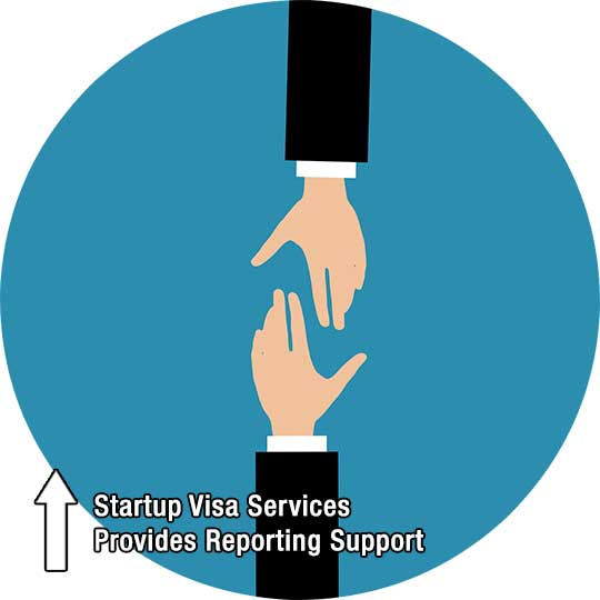 Startup Visa Services Provides Reporting Support