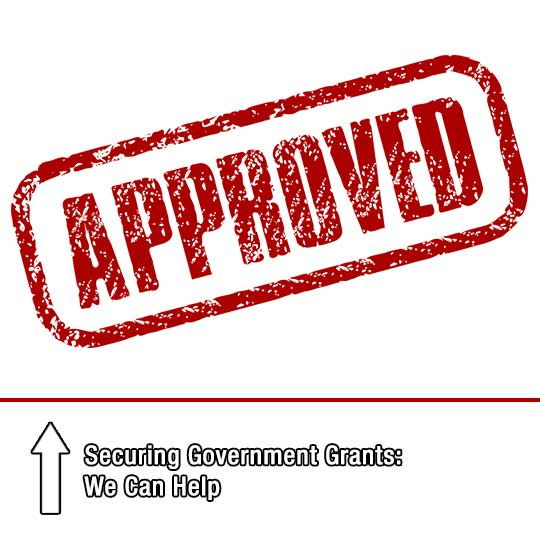Securing Government Grants: We Can Help